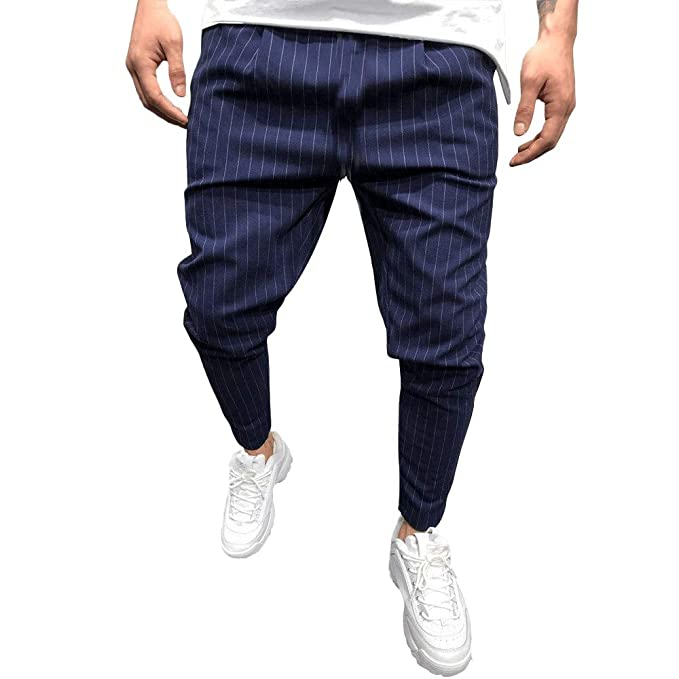 7bf6d4d1f2 PANPANY- Pantaloni Tuta da Jogging Pantalone Sportivo da Uomo a ...