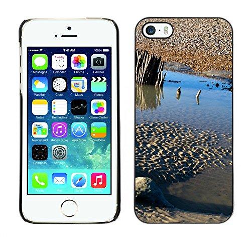 Premio Sottile Slim Cassa Custodia Case Cover Shell // F00003080 de plein air // Apple iPhone 5 5S 5G