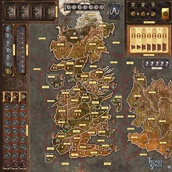 Asmodee Italia - Juego de Mesa de Juego de Tronos 2nd Edición La Madre de los Dragones Gamemat, Color, 7214: Amazon.es: Juguetes y juegos