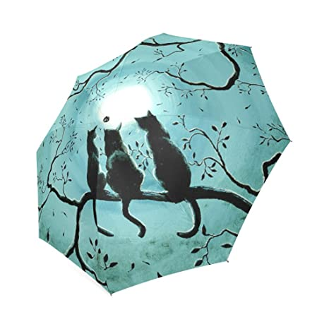 Artsbaba Umbrella Cat Rain Umbrella Foldable UV Protection Umbrella Compact Travel Umbrella