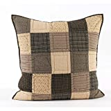 VHC Brands Kettle Grove Euro Sham Quilted 26x26