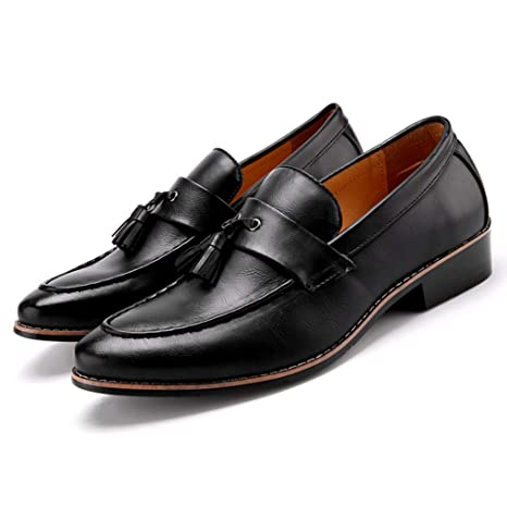 5f0b59850a6c Amazon.com: Starttwin Oxford Shoes Men Classic Tassel Slip on ...