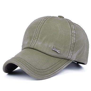 f13fab847 Men Distressed Adjustable Baseball Caps Washed Snapback Hat