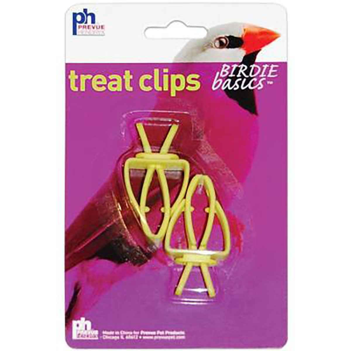 Prevue Pet Toy 2 Piece Treat Clips Bird Toy