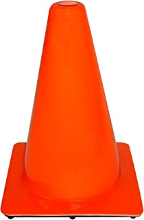 "product image for 3M 90127-00001-20, 12"" Professional Quality Non Reflective Safety Cone, 1-Pack"