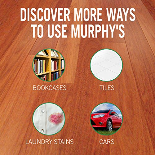 MURPHY OIL SOAP Wood Cleaner, Original, Concentrated Formula, Floor Cleaner, Multi-Use Wood Cleaner, Finished Surface Cleaner, 128 Fluid Ounce (US05480A) by Murphy Oil (Image #6)