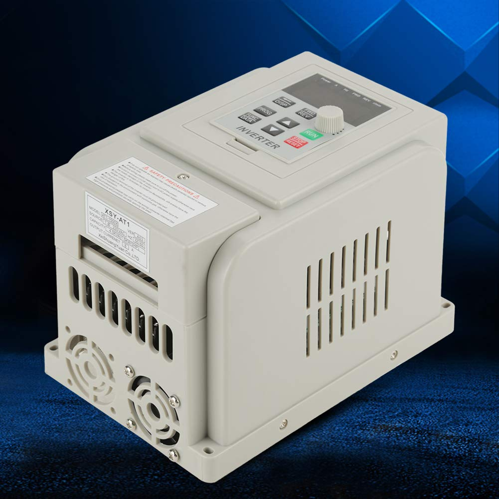 VFD 220V, Single-Phase Variable Frequency Drive,Low Noise Electromagnetic Interference,for 3-Phase 1.5KW AC Motor by Thincol (Image #4)