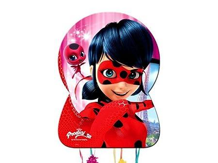 Set de 2 Piñatas Ladybug para Cumpleaños. Decoración de ...