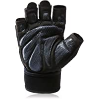 1 paar fitnesshandschoenen trainingshandschoenen met polsondersteuning voor gewichtstraining, gewichtheffen & gym…