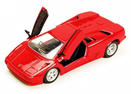 Amazon Com Lamborghini Diablo Hard Top Red Maisto 31903r 1 24