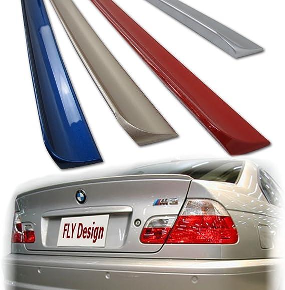 Car Tuning24 49945902 Wie Performance Und M3 E46 3er Tuning Neu Heckspoiler Kofferraum Spoiler Lippe Titansilber 354 Auto