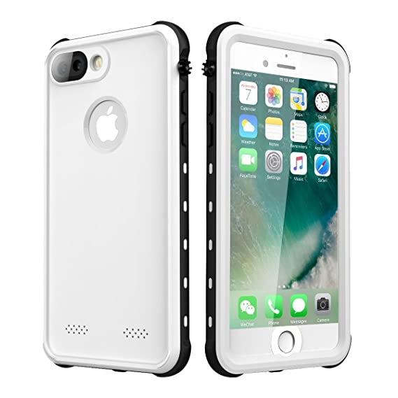 best service f04a2 0fa8d Waterproof Case for iPhone 7 Plus/iPhone 8 Plus, iThrough Underwater Case  for 7 Plus/5.5