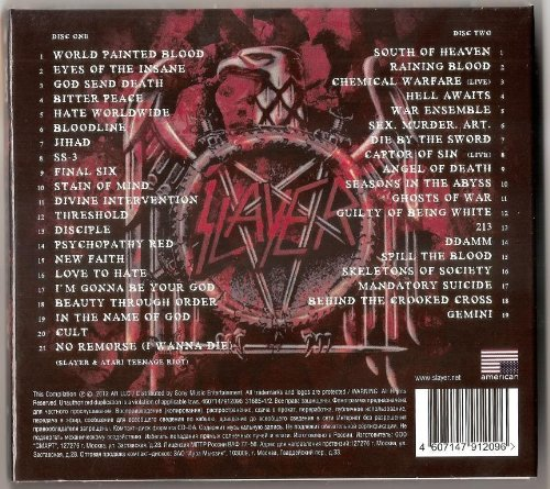 Slayer Greatest Hits 2 Cd Set Import It All