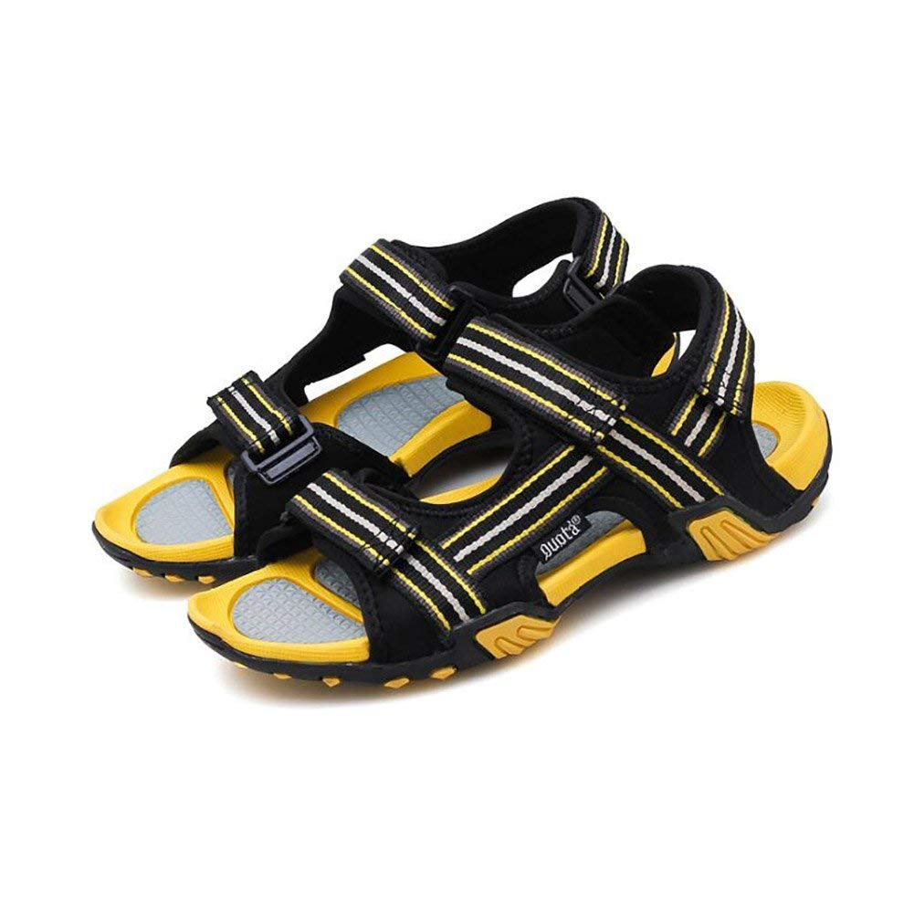 D Fuxitoggo Men Sandals 2018 Summer New Outdoor Youth Wading Sports shoes Breathable Casual Beach shoes Tide Non-Slip Exposed Toe Sandals (color  One, Size  40) (color   B, Size   44)