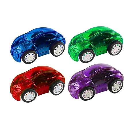 Toyvian Pull Back Cars Modelos de coches de juguete Coches ...