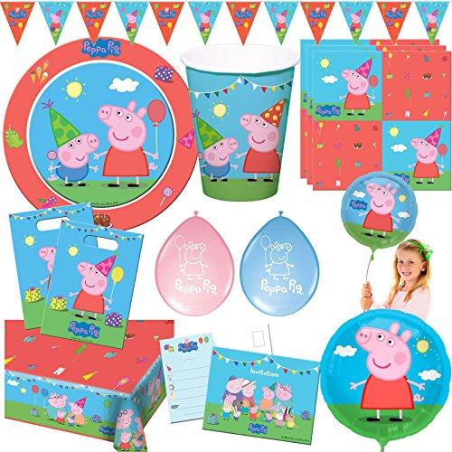 Decorations Et Accessoires De Fetes 8 Cartes Dinvitation Peppa Pig Generique Jeux Et Jouets Hotelaomori Co Jp