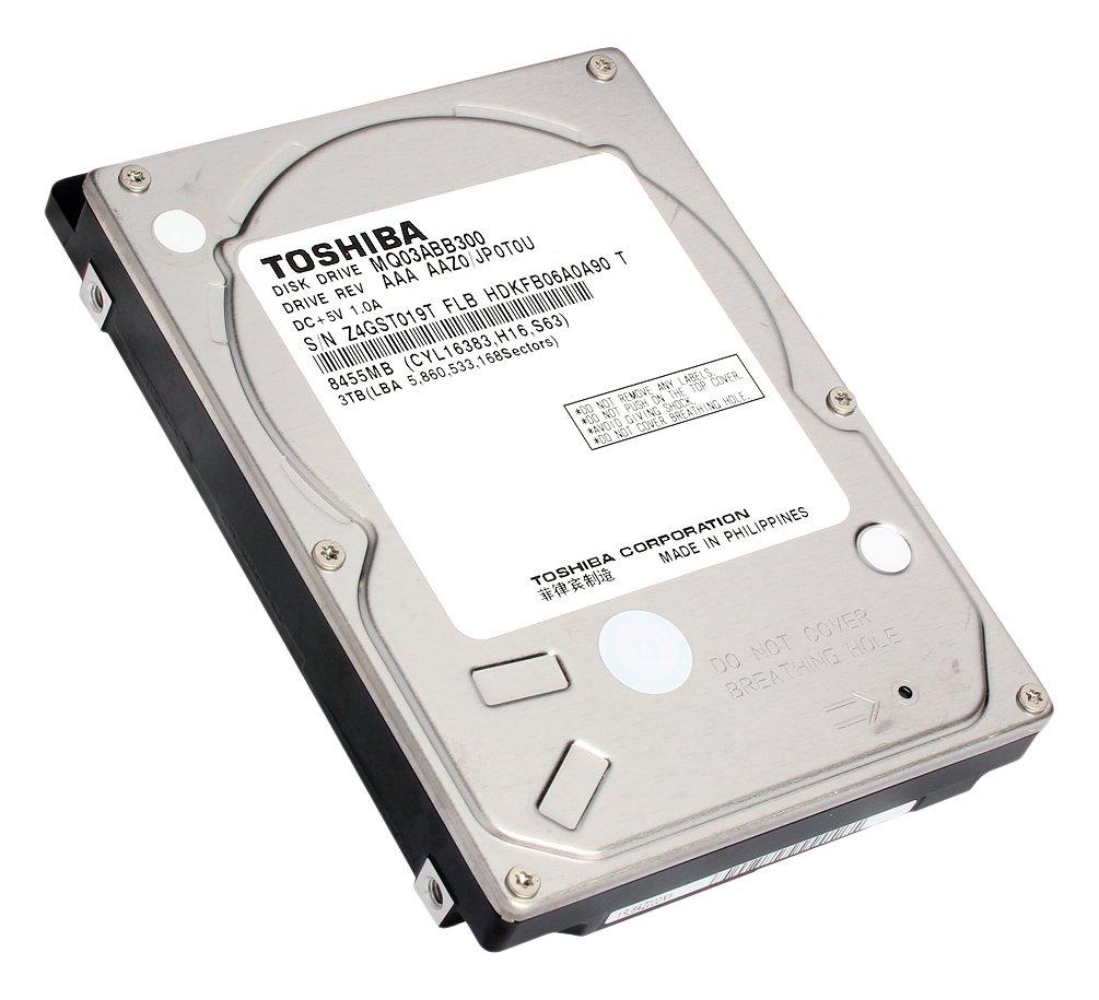 Toshiba MQ03ABB300 HDD 3000GB Serial ATA III disco rigido interno