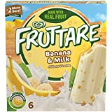 Fruttare, Frozen Fruit Bar, Banana and Milk, 6 ct (Frozen)