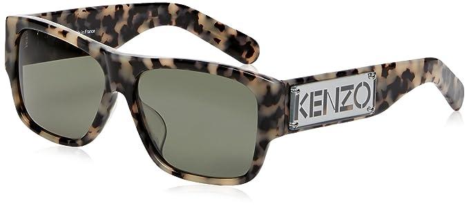 3806a5b63061e Kenzo KZ3167 Lunettes de soleil Femme Vert NOSIZE  Amazon.fr ...
