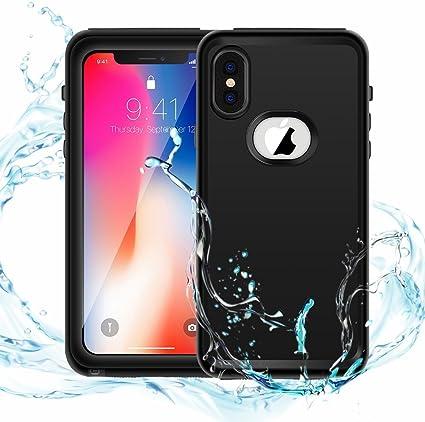 iPhone X Waterproof funda,resistente al agua, IP68 impermeable a ...