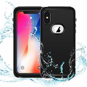 b140022777c iPhone X Waterproof funda,resistente al agua, IP68 impermeable a prueba de  golpes snowproof