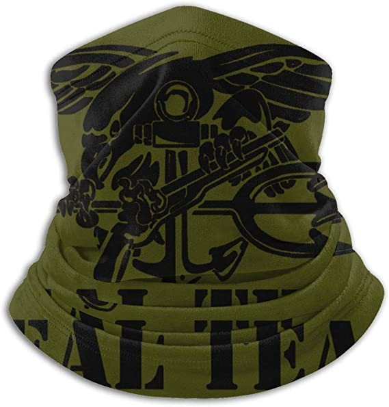 DJNGN US Navy Seal Team Unisex Fleece Scaldacollo Ghetta Berretto per Il Viso Snood