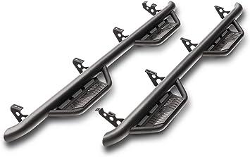 99-16 N-FAB F99115CC Gloss Black Nerf Step; Wheel 2 Wheel Ford F250 Fits Single Rear wheel /& Dually 99-10 F350 Super Duty Crew Cab 8 Bed