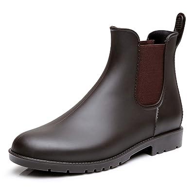 cheaper d9dce f0812 Pastaza Stivali di Gomma Stivaletti Rain Boot Chelsea Stivali Impermeabile  Scarpe per Donna Uomo