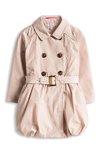 ESPRIT - Abrigo manga Larga para niña, color Beige (SAND 285), 9