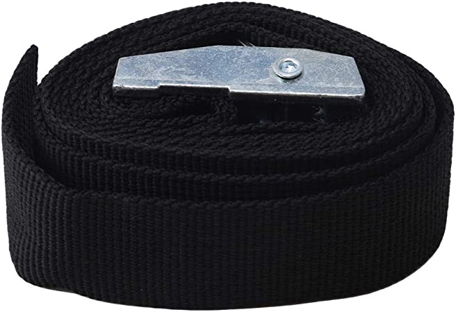 LANWF Luggage Tightening Strap Lashing Strap Fixing Strap Ratchet Lace-up Strap for Baggage Kayaks Trucks Cargo,1 Meter