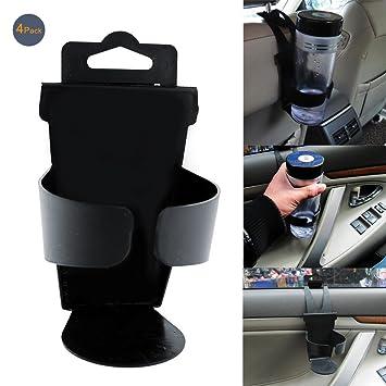 Amazon.com: Portavasos flexible para coche con soporte para ...