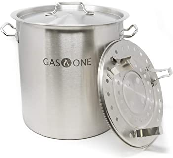 GasOne Heavy-Duty Sturdy Thickness Tamale Steamer