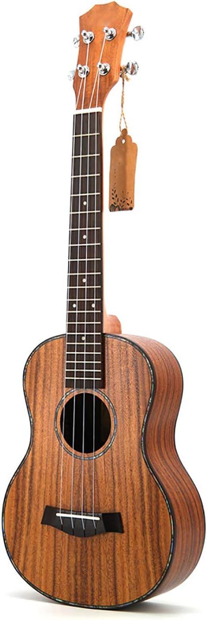 NUYI Ukelele De Madera De Acacia De 26 Pulgadas Ukelele Ukelele Al por Mayor Ukelele Guitarra Pequeña Solo para Hombres Y Mujeres Principiantes