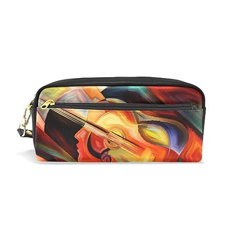 Eslifey - Estuche para violín de música, para mujer, de piel ...