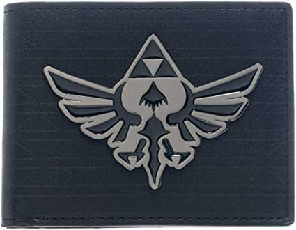 Game The Legend of Zelda Skyward Sword Bifold Mens Wallet For Fans As Gifts
