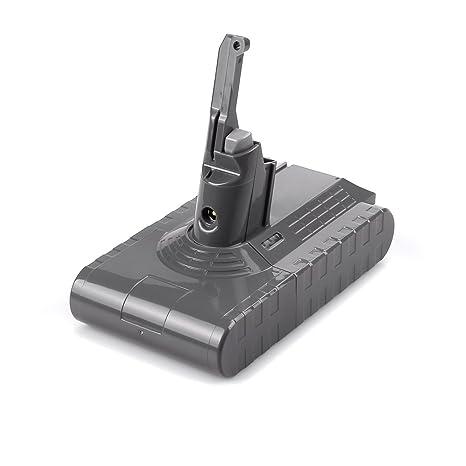 Dtk Batería de Repuesto 21.6V 3000mAh para Dyson V8 Absolute Cord-Free Vacuum Handheld