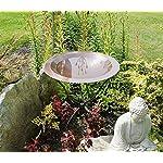 Achla Designs 24-in Round Classic Copper Birdbath Bowl 8
