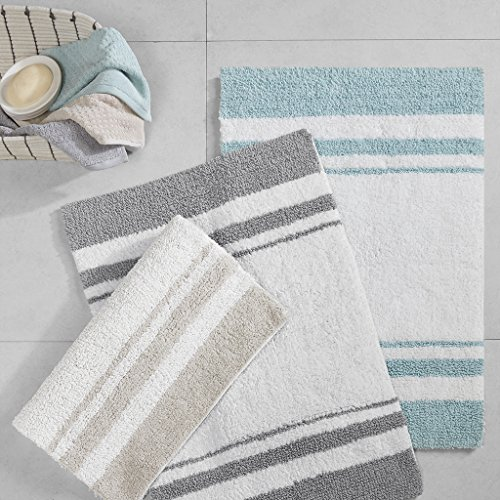 Reversible Bathroom Mats: Spa Reversible Cotton Bath Rug