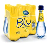 Oasis Blu Sparkling Lemon Water, 6 x 500 ml