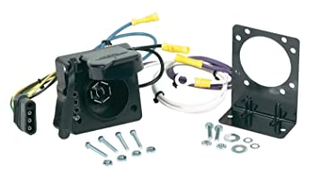619kACN75NL._SX355_ amazon com hopkins 47185 vehicle wiring adapter kit 7 blade & 4