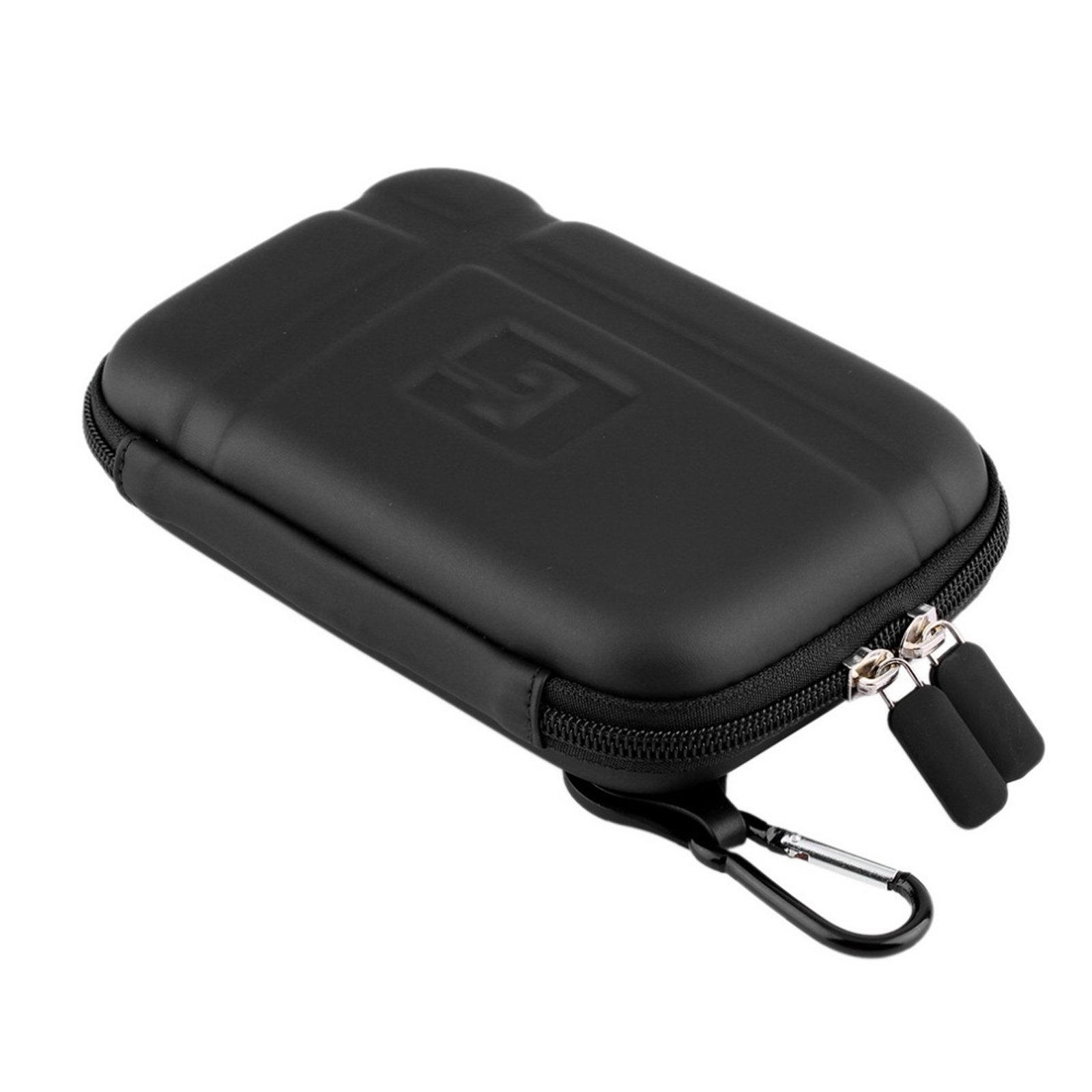 5'' Inch Hard Carrying Case Travel GPS Protective Bag Cover Pouch Shell Zipper Case For 5'' 5.2'' TomTom Garmin Nuvi Magellan RoadMate Tomtom GPS Devices Black