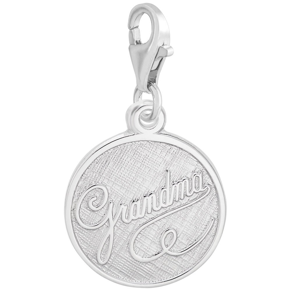 Grandma Charm With Lobster Claw Clasp Charms for Bracelets and Necklaces
