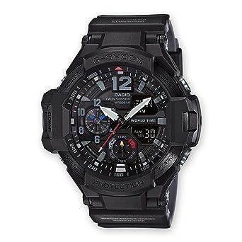 Casio Reloj Analógico-Digital para Hombre de Cuarzo con Correa en Resina GA-1100-1A1ER: Amazon.es: Relojes