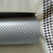 Emuca 8924621 Esterilla antideslizante protector de caj/ón//estante//armario 150x48cm color gris