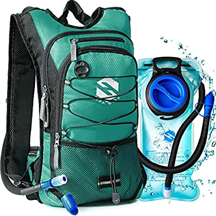 OlarHike Hydration Backpack Pack with 2L BPA Free Leak-Proof...