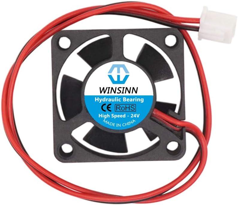 High Speed WINSINN 30mm Fan 12V Hydraulic Bearing Brushless 3010 30x10mm Pack of 5Pcs