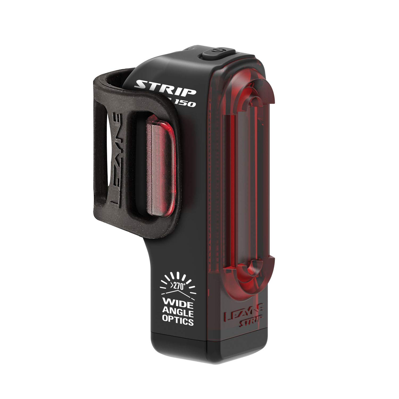 Nero Luce Posteriore per Bicicletta//Mountain Bike LED Ricaricabile USB Unisex Taglia Unica da Adulto Lezyne Strip Drive