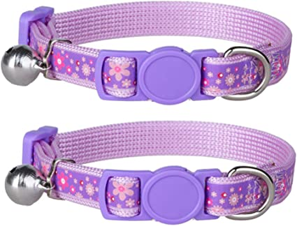 American Girl Blossoms Collar and Leash Set Pet Dog Puppy Cat Kitten