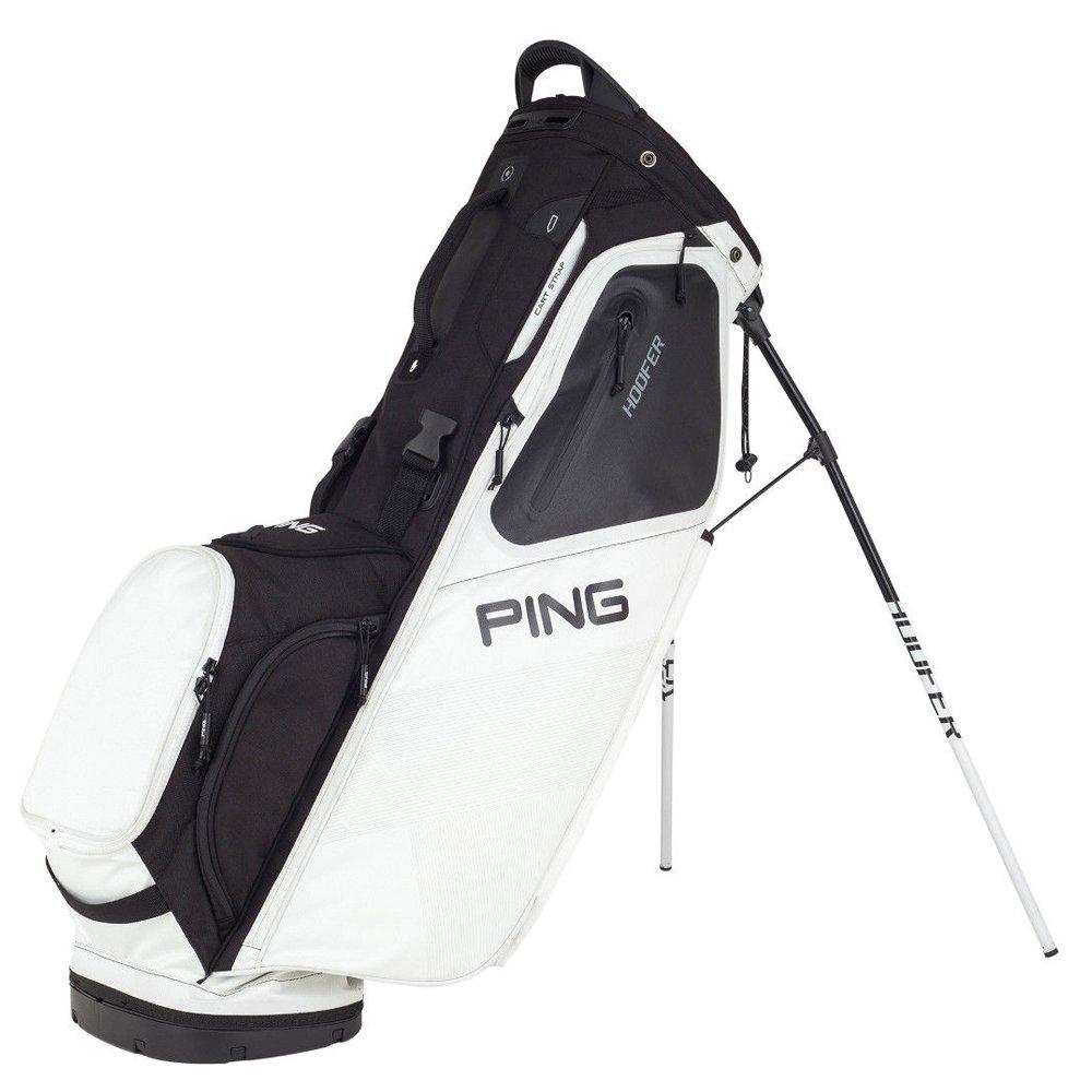 Ping 2018 Hoofer 181スタンドゴルフバッグ08ホワイト/ブラック B078XL496M