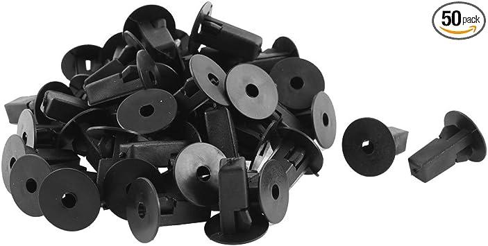 20 Pcs White Plastic Rivet Bumper Lining Trim Panel Mat Clips for Toyota Prado